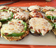 Eggplant Pizza Poppers