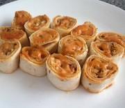 Cajun Fish Rolls with Remick Sauce